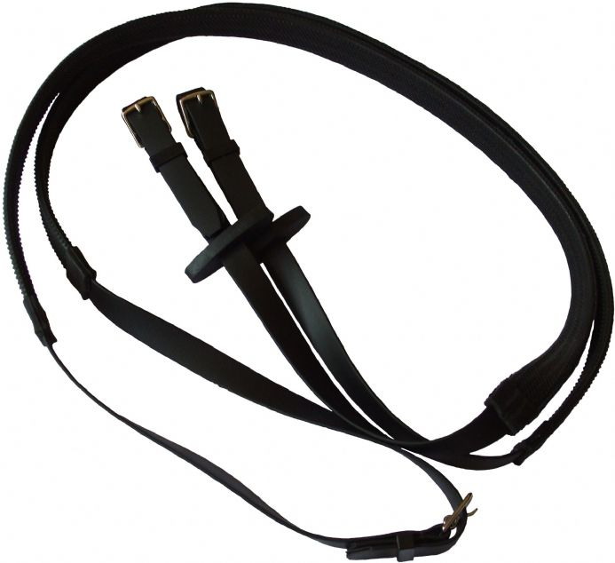 Blue Lizard Equestrian|Race or exercise reins in bio thane coated material with strong fittings